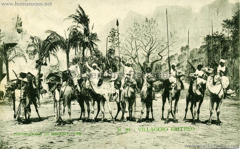 1906 Esposizione - Villaggio Eritreo 81
