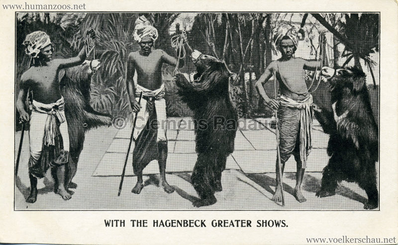 1906 With the Hagenbeck Greater Shows 3 VS