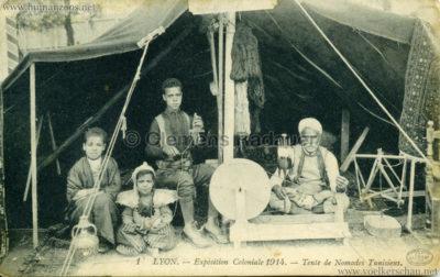 1914 Exposition Coloniale Lyon - 1. Tente de Nomades Tunisiens