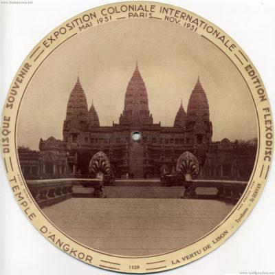 1931 Exposition Coloniale Flexodisc 1129