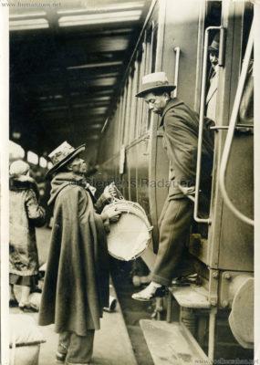 1931 Exposition Coloniale Internationale Paris - Malagaches Bahnhof PRESSEFOTO VS
