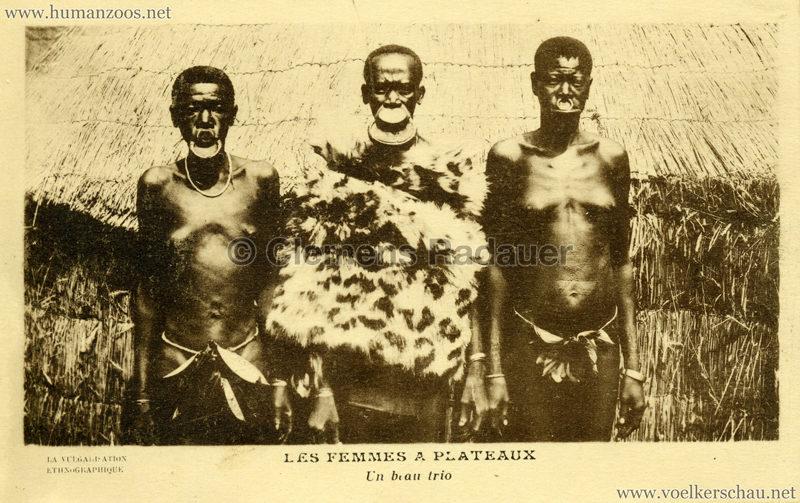 1931 Les Femmes a Plateaux - Un beau trio