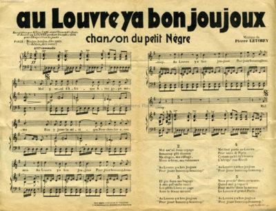 1934 Exposition de Jouets Chef Nyambi - Noten 2