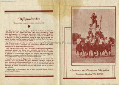 1947 Souvenir des Cosaques Djiguites 1