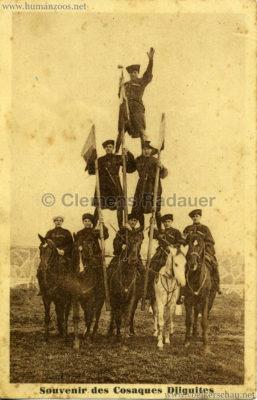 1947 Souvenir des Cosaques Djiguites