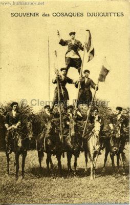 1947 Souvenir des Cosaques Djuiguittes