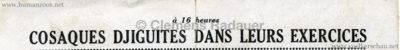 1947 Valencay Concours Hippique - Djiguites 2