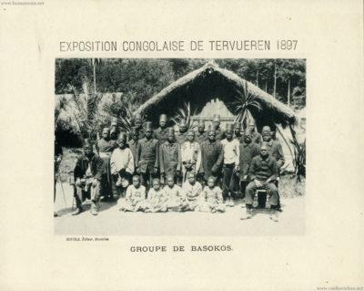 1897 Exposition Congolaise de Tervueren - Groupe de Basokos