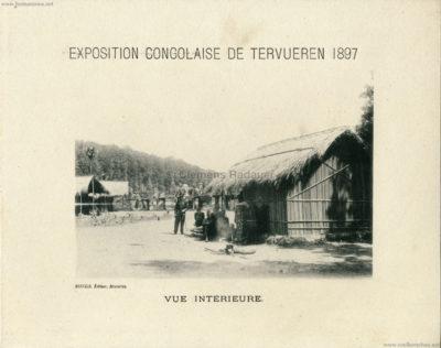 1897 Exposition Congolaise de Tervueren - Vue Interieure