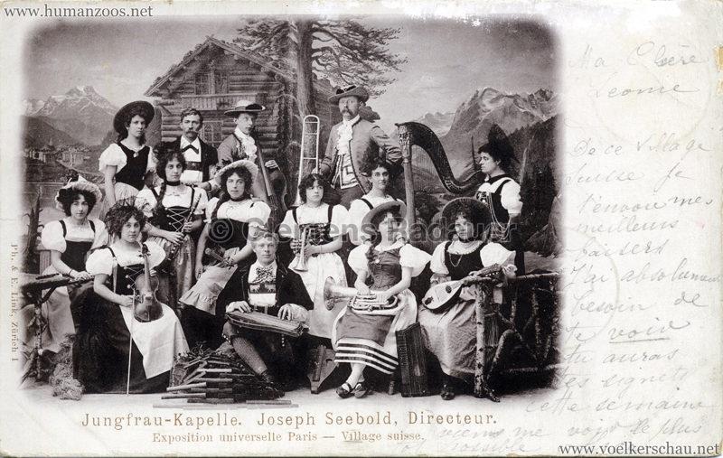 1900 Exposition Universelle Paris Jungfrau Kapelle - Joseph Seebold