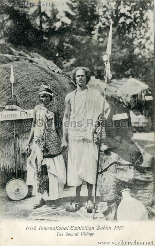 1907 Irish International Exhibition - Somali Village 7