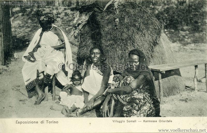 1911 Esposizione di Torino - Villaggio Somali - Kermesse Orientale 7