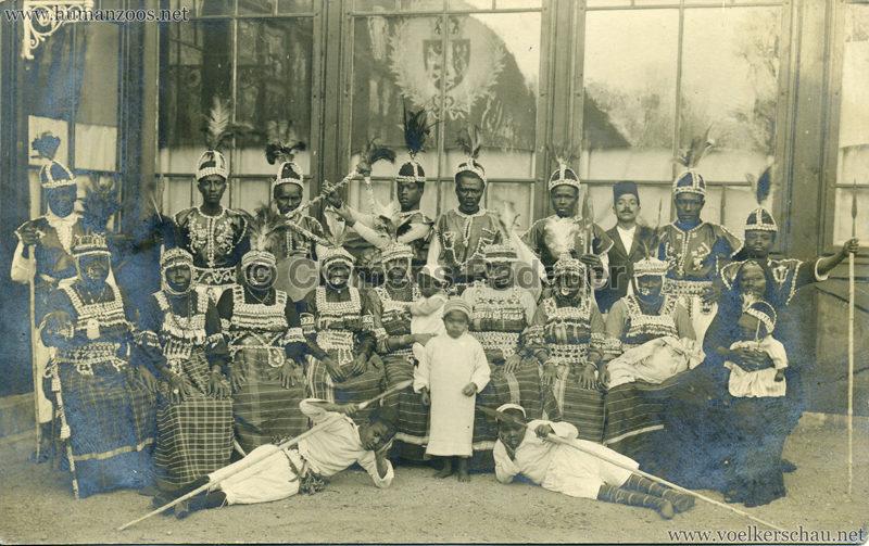 1921 Sudanesen-Truppe (Passage Panoptikum) Prag FOTO