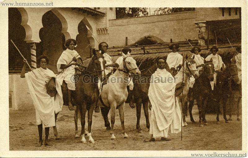 1928 Carl Hagenbecks Somalischau (Berlin) - Somalireitergruppe VS