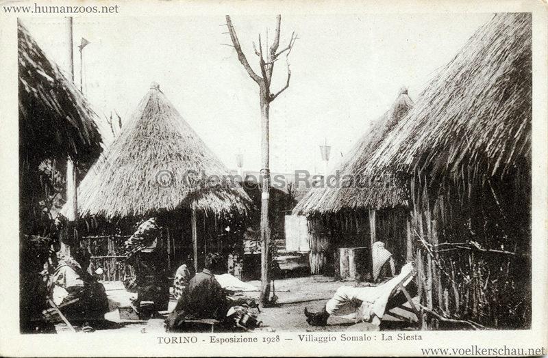 1928 Esposizione Torino - Villaggio Somalo La Siesta
