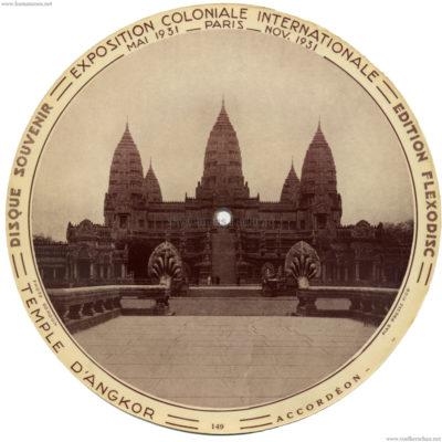 1931 Exposition Coloniale Flexodisc 149