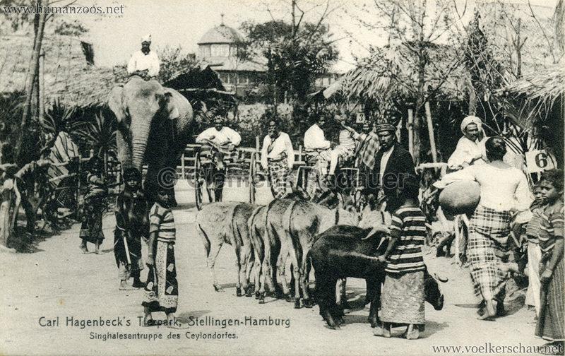 Singhalesentruppe des Ceylondorfes 188 VS