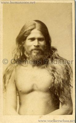 1884:1885 Singhalesen der Hagenbeck'schen Ceylon-Expedition Hamburg 2