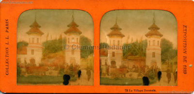1889 Exposition Universelle Paris STEREO Mix