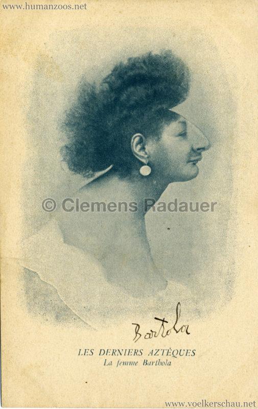 1905 Les Derniers Azteques Bartola