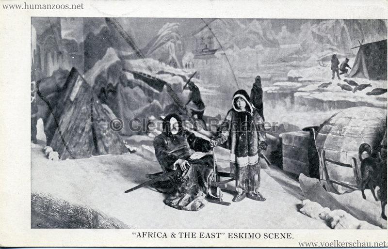 1909 Africa & The East Exhibition - Eskimo Scene