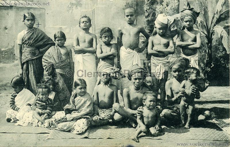 1910:1911:1912 Gustav Hagenbeck's grösste indische Völkerschau der Welt - Kinder gel. 1911.05.10 VS