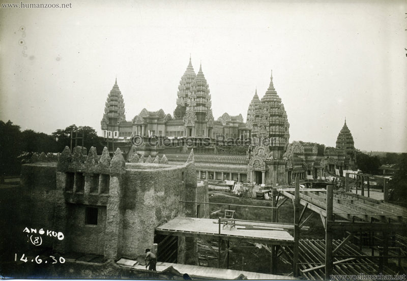 1931 Exposition Coloniale Internationale Paris - FOTO Angkor 8 14.06.1930
