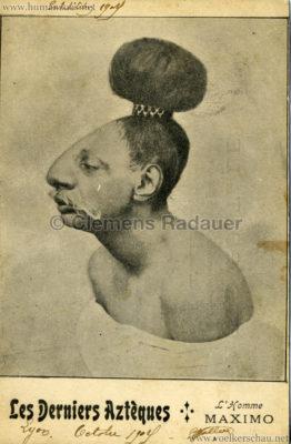Les Derniers Azteques Bartola - L'homme Maximo Lyon Octobre 1909