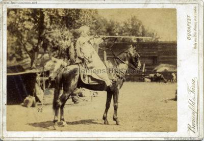 1888 Beduinen Budapest (Bienenfeld es Tarsa) CDV VS