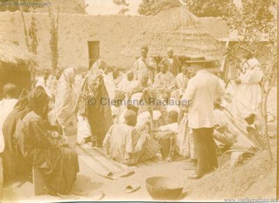 1896 Exposition Ethnographique de l'Afrique occidentale et orientale - Champs de Mars - Bapteme de la jeune Diaga N'Diaye
