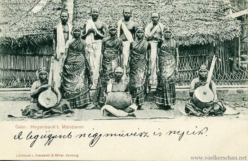 1900 Gebr. Hagenbeck's Malabaren 3