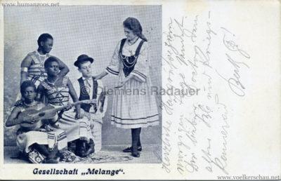 1902 Gesellschaft Melange gel 23.07.1902 Vordernberg