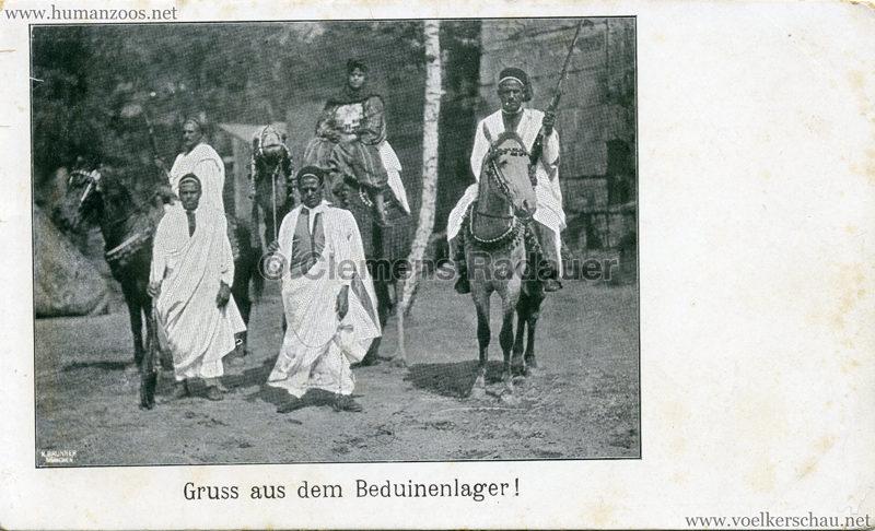 1902 Gruss aus dem Beduinenlager! 3 kopieren