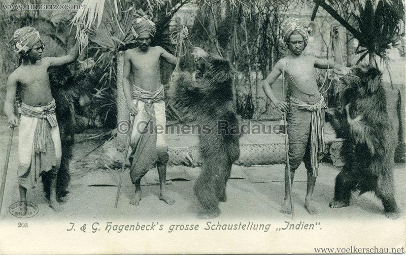 1905 J. & G. Hagenbeck's grosse Schaustellung