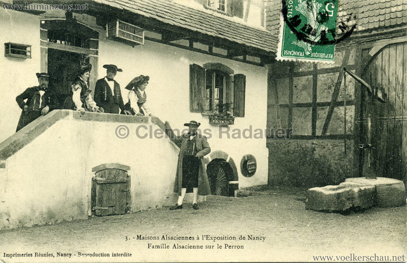 1909 l'Exposition de Nancy - Maisons Alsaciennes 3