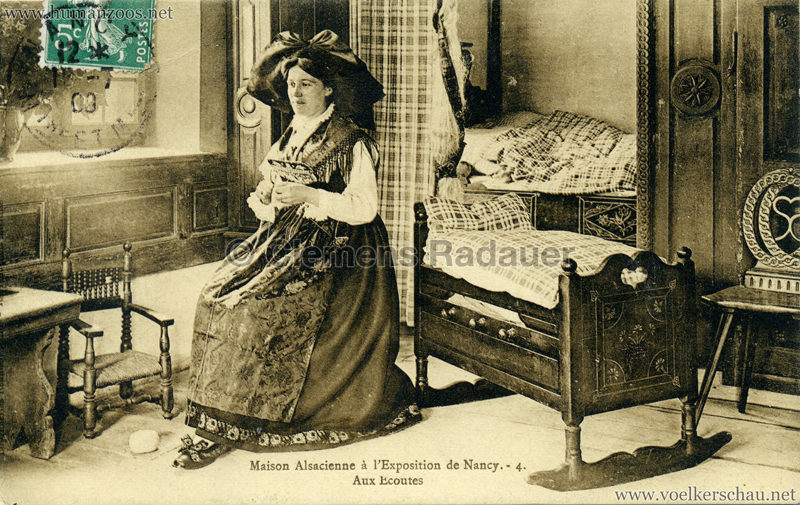1909 l'Exposition de Nancy - Maisons Alsaciennes 4