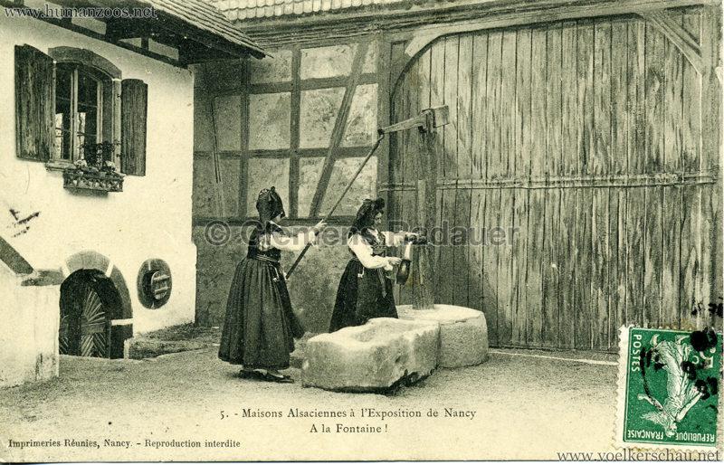 1909 l'Exposition de Nancy - Maisons Alsaciennes 5