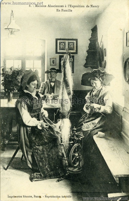 1909 l'Exposition de Nancy - Maisons Alsaciennes 8