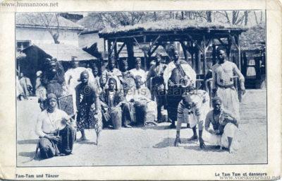 Tam-Tam und Tänzer - Le Tam Tam et danseurs HUN