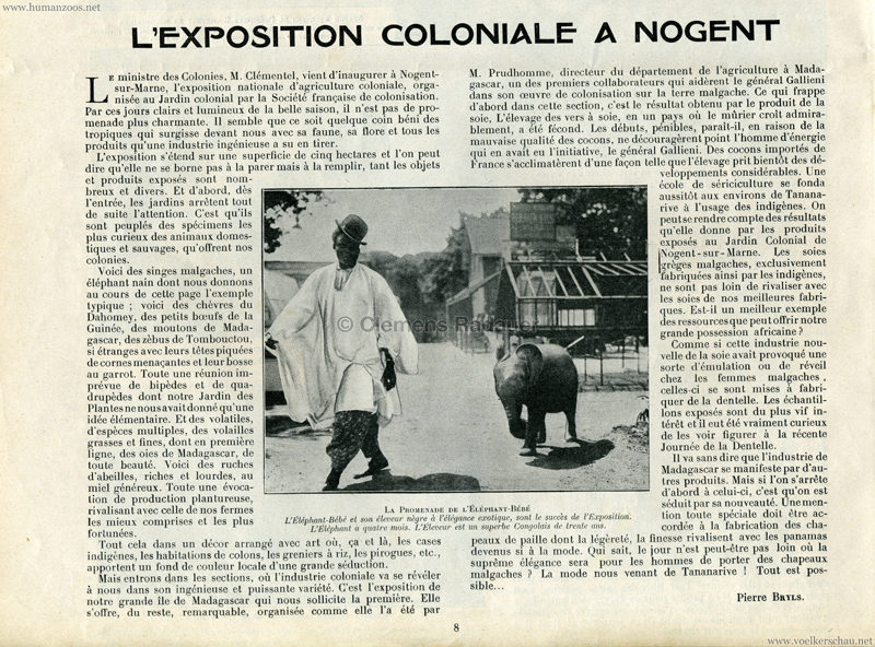 1905.07.02 Madame et Monsieur - L'Exposition Coloniale a Nogent