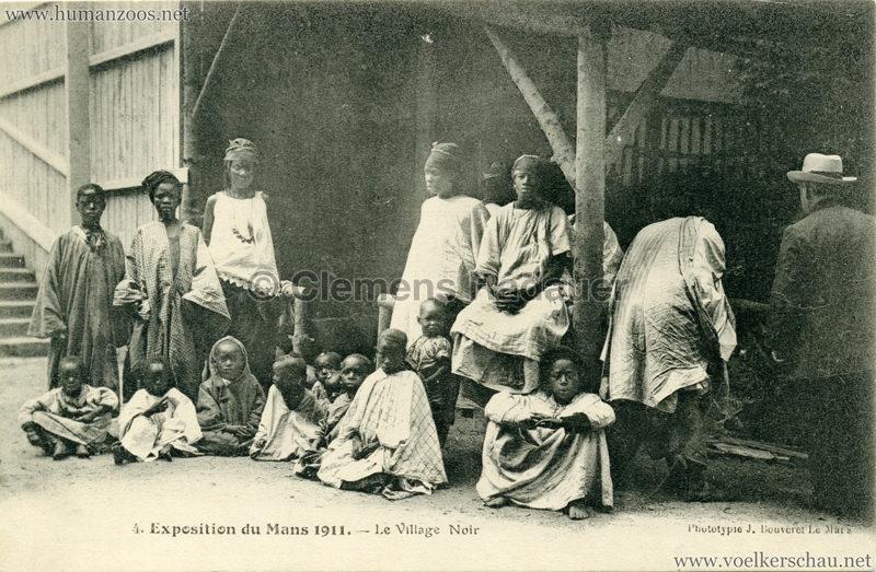 1911 Exposition du Mans - Le Village Noir - 4 2