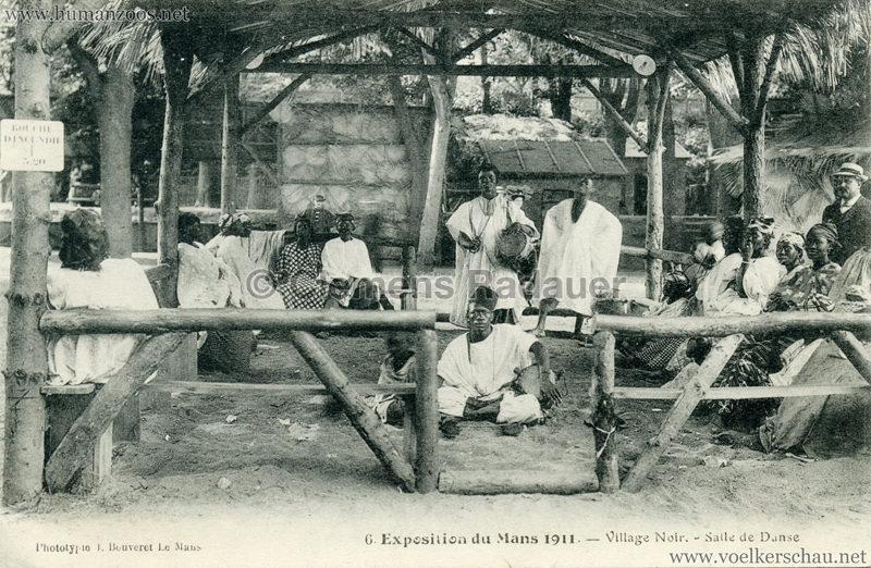 1911 Exposition du Mans - Le Village Noir - 6. Salle de Dance