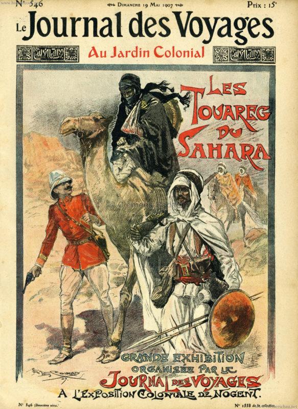 1907.05.19 Journal de Voyages - Au Jardin Colonial 1