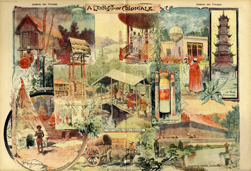 1907.05.19 Journal de Voyages - Au Jardin Colonial 2