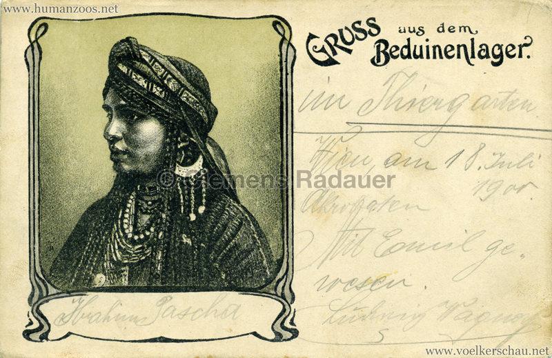 1900:1901:1902 Gruss aus dem Beduinenlager 8