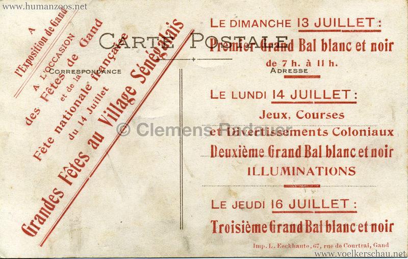 1911 Exposition Internationale du Nord de la France - 5. Les Tisserands (verw. 1913 Expo Gand) RS