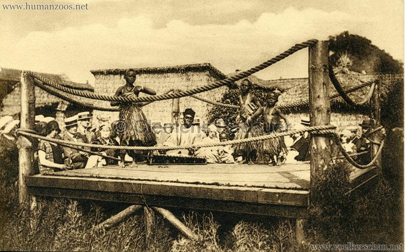 1930 Exposition d'Anvers - Village Africain - Danses enfantines
