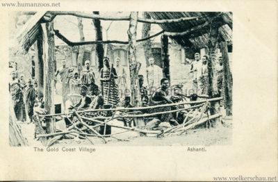 1903 The gold coast village - Ashanti
