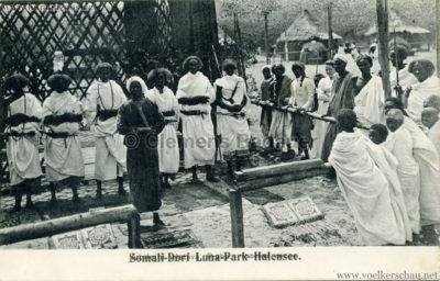 1910:1911 Lunapark Halensee - Somali-Dorf 8 VS