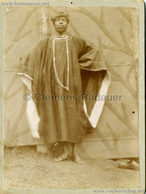 Afrikaner Hagenbeck 1890 (???) CDV